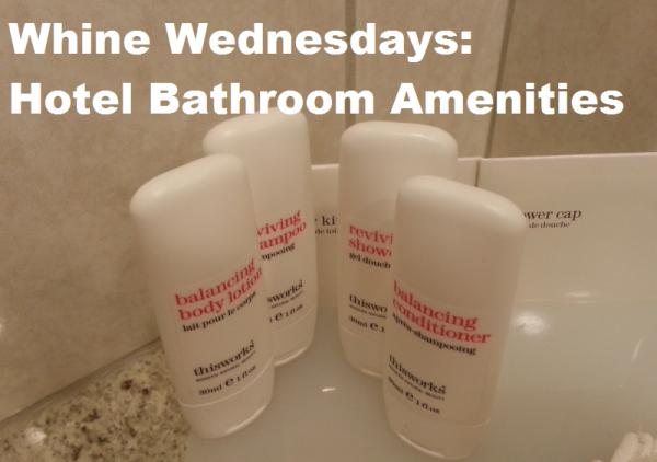 Whine Wednesdays Hotel Bathroom Toiletries