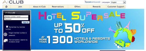 Accor Super Sale 2011