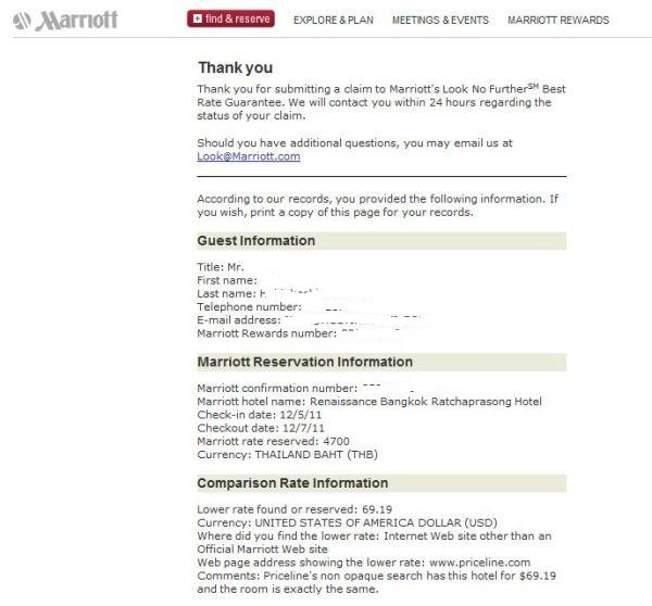 Marriott Look No Further Submission