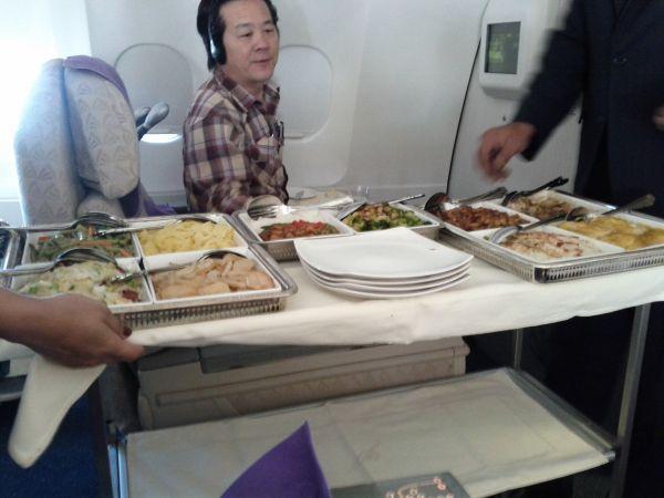 SriLankan Airlines Beijing Bangkok Cart