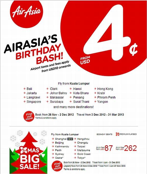 Airasia Birthday Sale Until December 2 Loyaltylobby