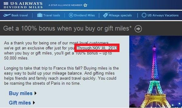 us-airways-buy-gift-miles-promotion-november-2013
