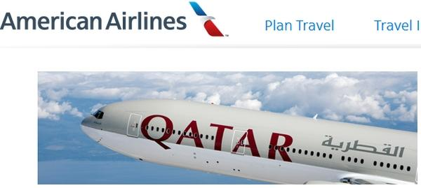 american-airlines-qatar-airways-logo