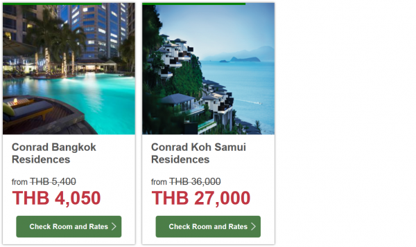Hilton HHonors Thailand 25 Percent Off Sale 4