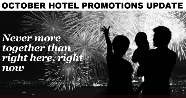 Hotel Promotions Update October 2014 U