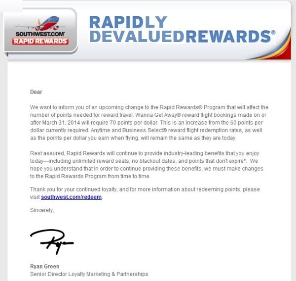 southwest-rapid-rewards-devaluation-email