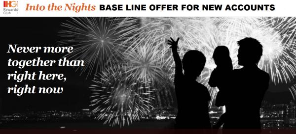 IHG Rewards Club Into The Nights Base Offer