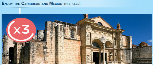Le CLub Accorhotels Mexico & Caribbean Triple Points & Up To 40 Percent Off Fall 2014