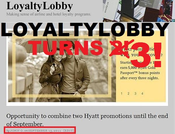 LoyaltyLobby 3 Years