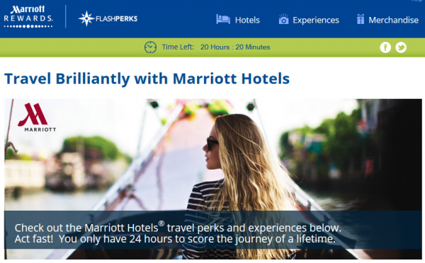Marriott FlashPerks Week 10