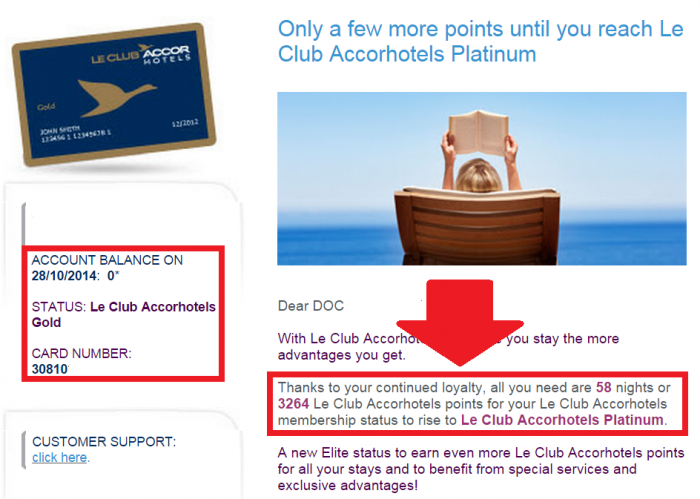 Le Club Accorhotels 2nd Stay Email