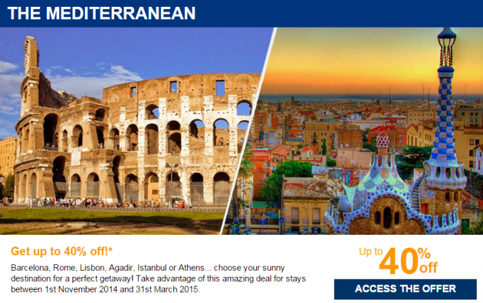 Le Club Accorhotels Private Sale October 2014 The Mediterranean