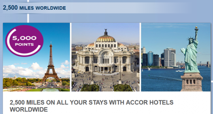 Le Club Accorhotels Delta SkyMiles 2500 Bonus Miles Offer Fall 2014