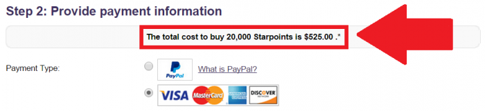 SPG Buy Gift Starpoints Get Up To 25 Discount Price