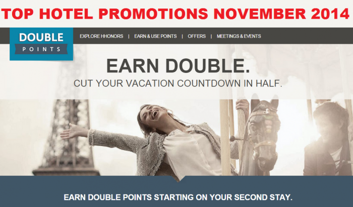 Top Hotel Promotions November 2014