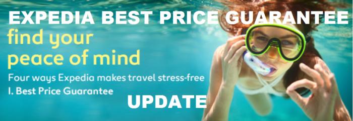 Expedia Best Price Guarantee Response Time Update