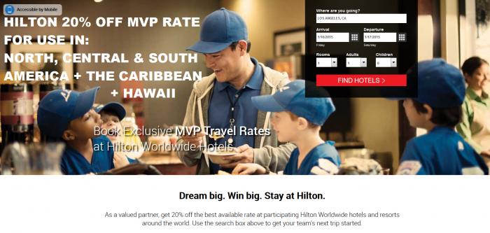 Hilton HHonors MVP Rate