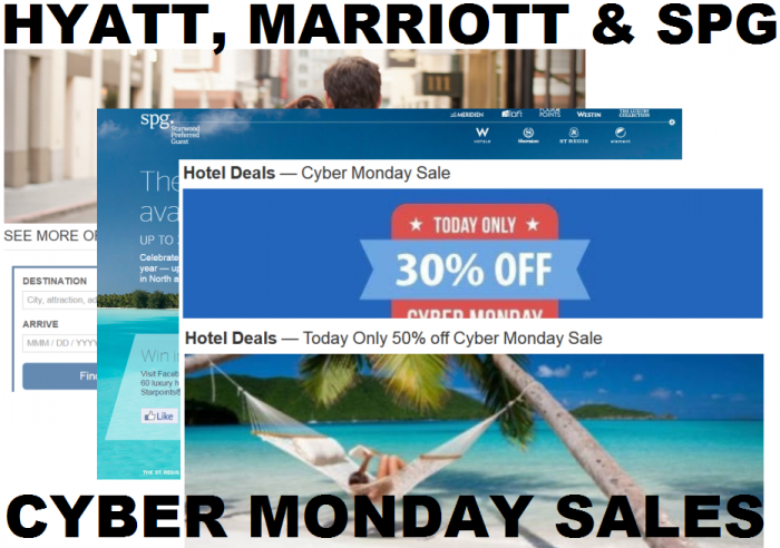 Starwood cyber monday deals 2018