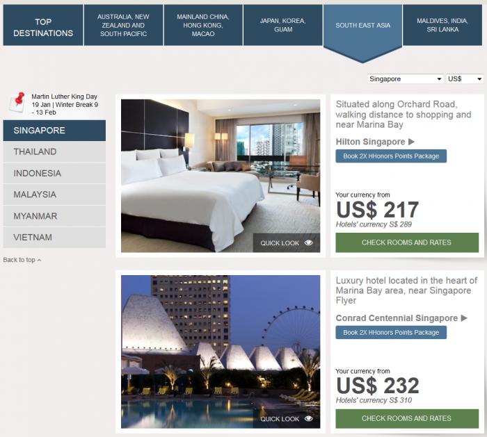 Hilton APAC Hilton Hotel Deals Southeast Asia