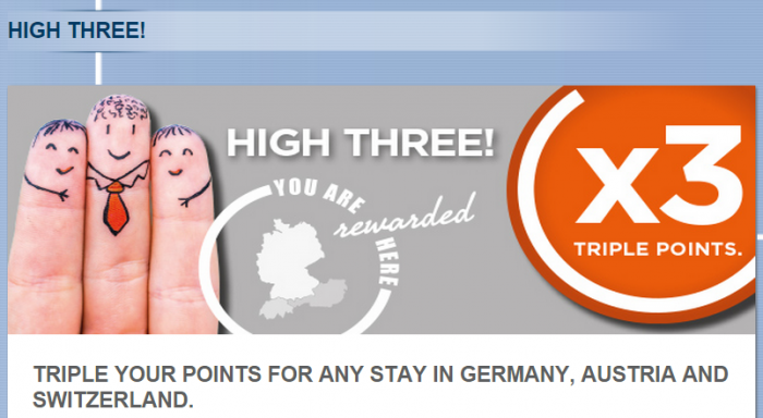 Le Club Accorhotels Germany, Austria & Switzerland Triple Points January 20 March 31 2015