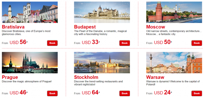 Le Club Accorhotels January 2015 Private Sale Easter Europe Baltics Sweden Price Grid