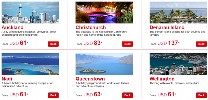 Le Club Accorhotels January 2015 Private Sales New Zealand & Fiji Price Grid
