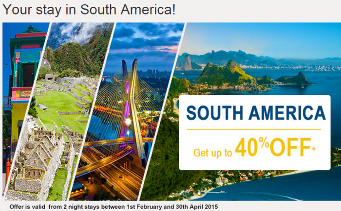 Le Club Accorhotels January 2015 Private Sales South America