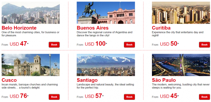 Le Club Accorhotels January 2015 Private Sales South America Price Grid