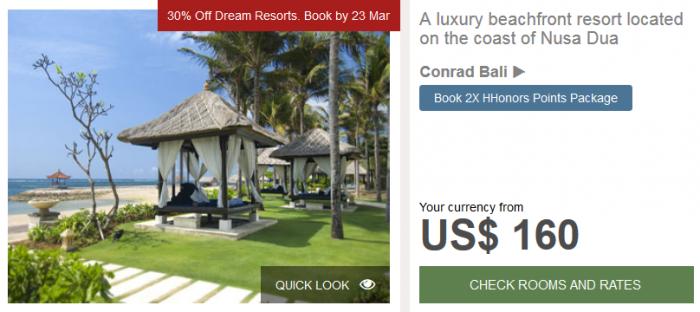 Hilton APAC Dream Resorts Conrad Bali