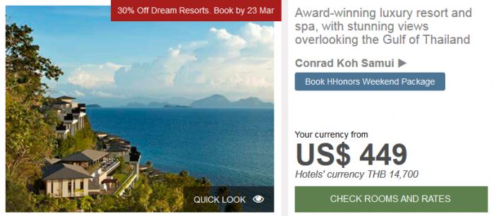 Hilton APAC Dream Resorts Conrad Koh Samui