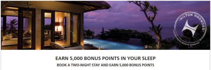 Hilton HHonors Conrad & Waldorf-Astoria 5,000 Bonus Points Per Two Night Stay (Jan 1 – Dec 31, 2015)