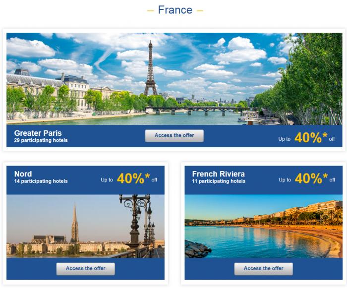 Le Club Accorhotels Private Sales February 24 France 1