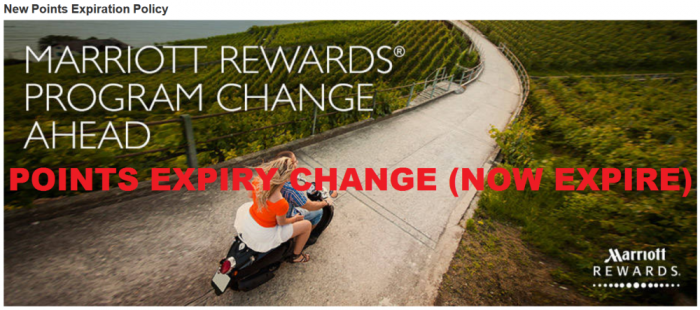Marriott Rewards Points Expiry Policy Change