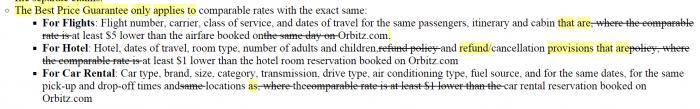 Orbitz Best Price Guarantee Further Devalued Best Price Guarantee Hotels