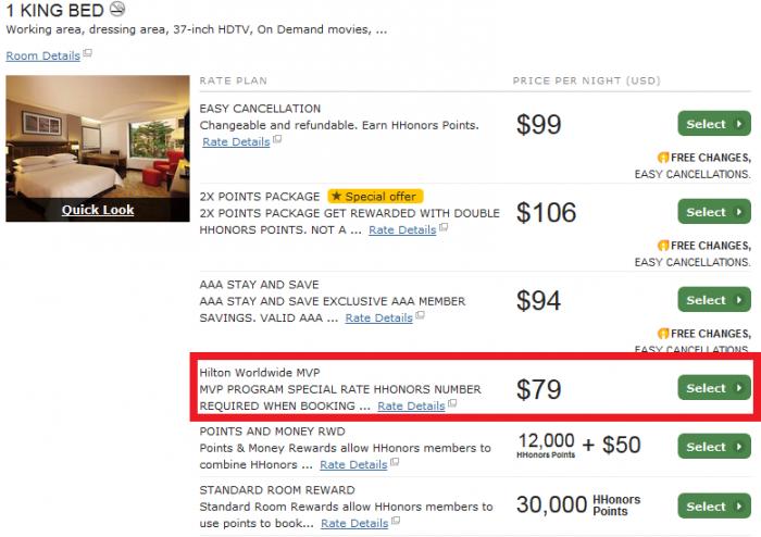 Hilton HHonors MVP Discount Code Hilton Bogota