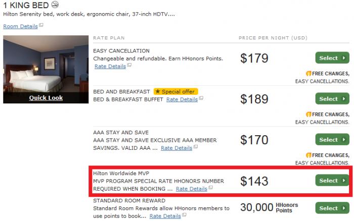 Hilton HHonors MVP Discount Code Hilton Mexico City Reforma