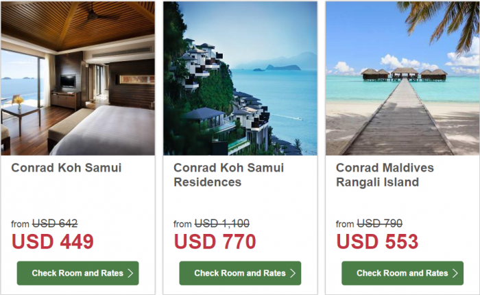 Hilton South East Asia Dream Resorts Promotion 1