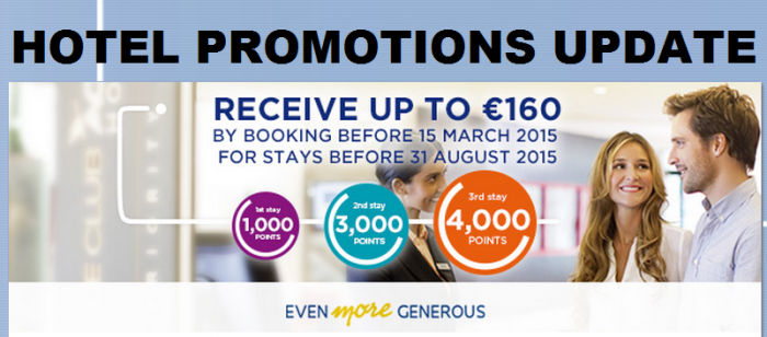 Hotel Promotions Update March 2015