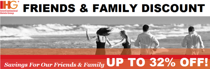 Intercontinental Hotels Group - IHG Rewards Club Friends & Family Rate