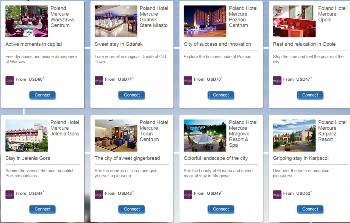 Le Club Accorhotels Mercure Poland Double Points April 1 May 31 2015 Hotels
