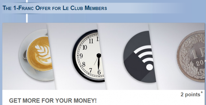 Le Club Accorhotels Swiss Double Triple Points Offer April 6 December 31 2015