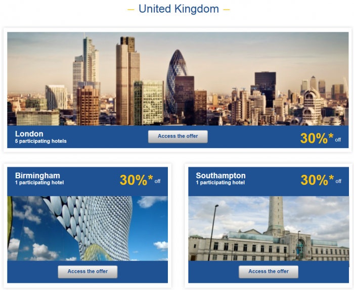 Le Club Accorhotels Private Sales March 2 2015 UK 1