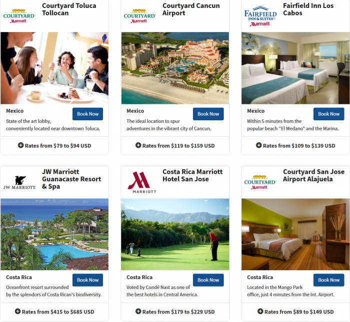 Marriott Rewards Latin America & The Caribbean Easter Offer 2015 4