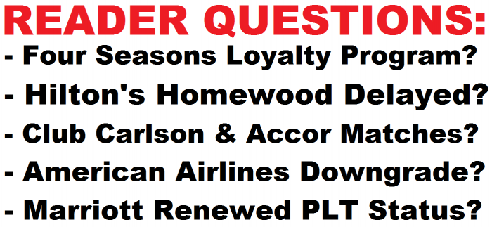 Reader Questions March 7