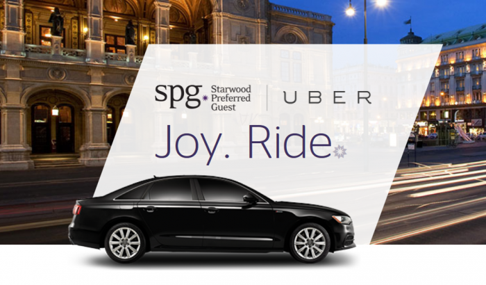 Starwood Preferred Guest Uber Update