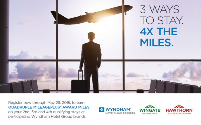 Wyndham Rewards Spring 2015 Airlines Miles Offers United Airlines
