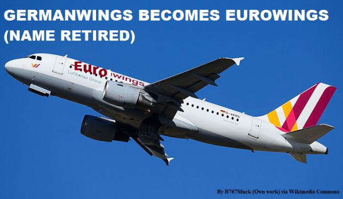 Germanwings Becomes Eurowings