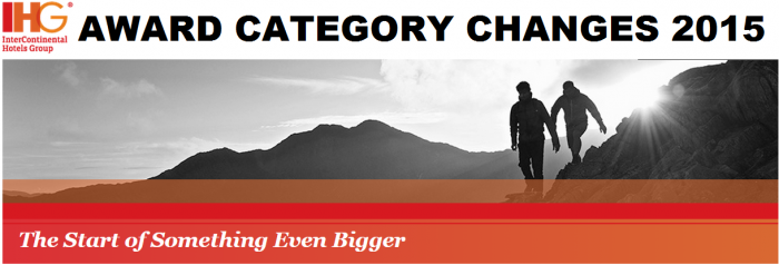 IHG Rewards Club 2015 Award Category Changes May 1
