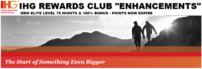 IHG Rewards Club Membership Changes 2015 2016