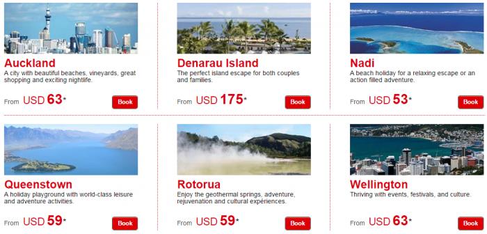 Le Club Accorhotels Private Sales April 2015 New Zealand & Fiji Hotels